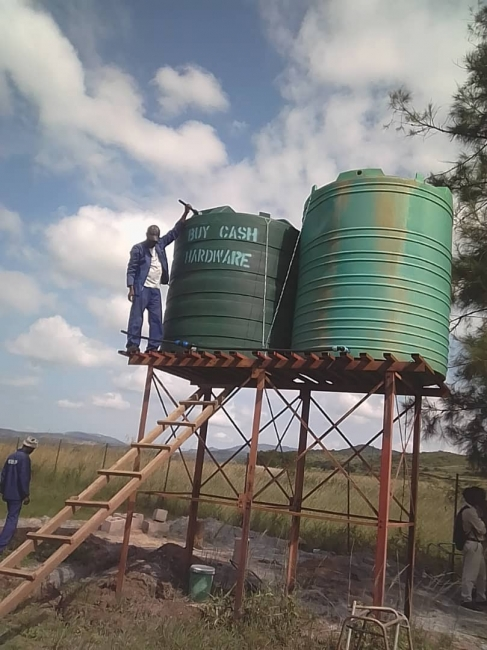 Water-tanks-at-high-school-well